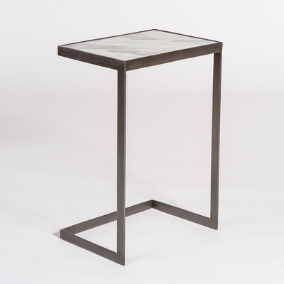 Laguna Burnished Accent Table