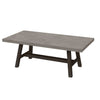 "Amherst 82"" Concrete Dining Table"