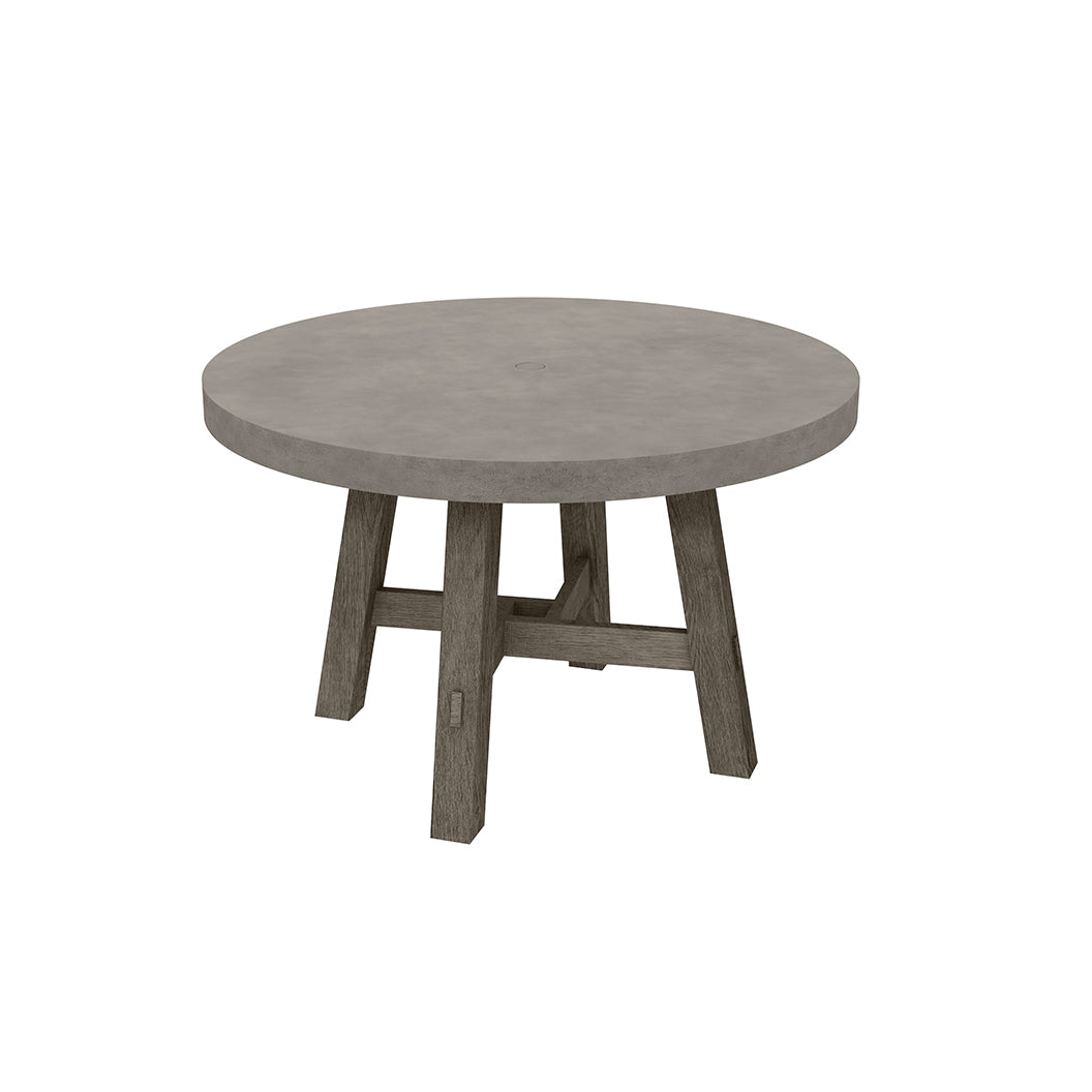 Amherst 50 Concrete Dining Table Greathouse