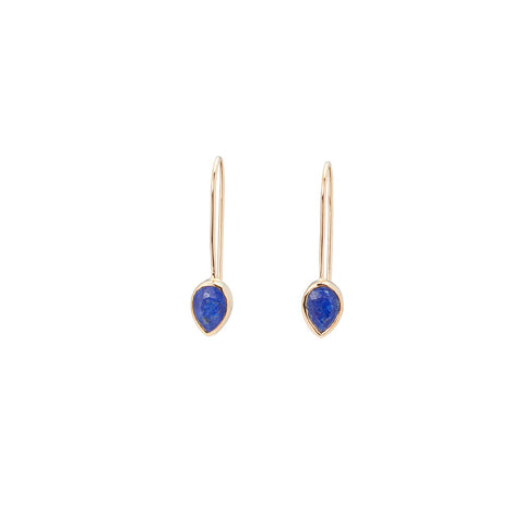 Pear Fallon Drops Lapis