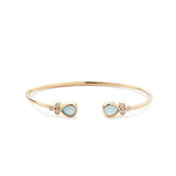 Bolinas Bangle Aqua Chalcedony