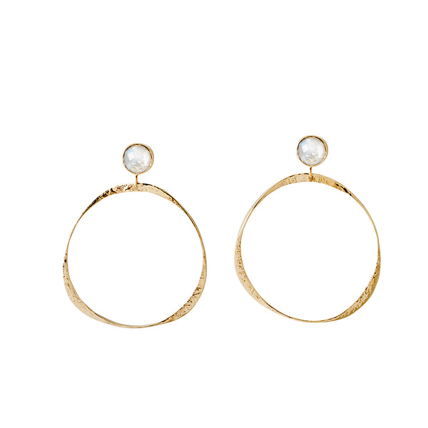Harbour Hoops Moonstone