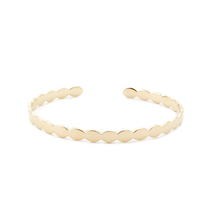 Scalloped Bangle