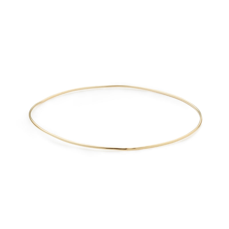 Smooth Gold Bangle