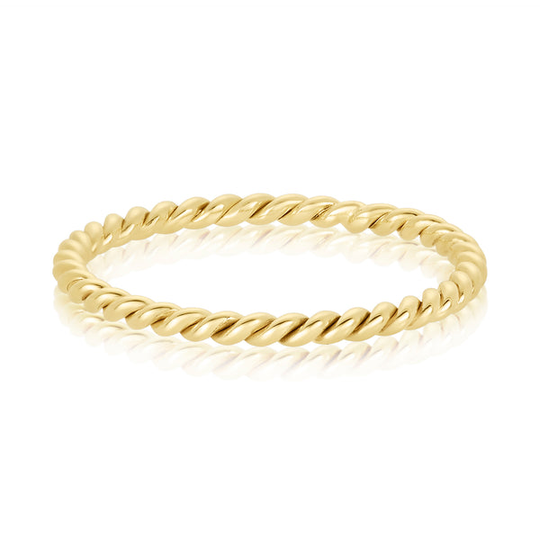 Delicate Twist Ring
