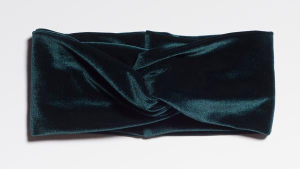 Emerald Duchess Velvet Turban