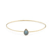 Frida Bangle Labradorite