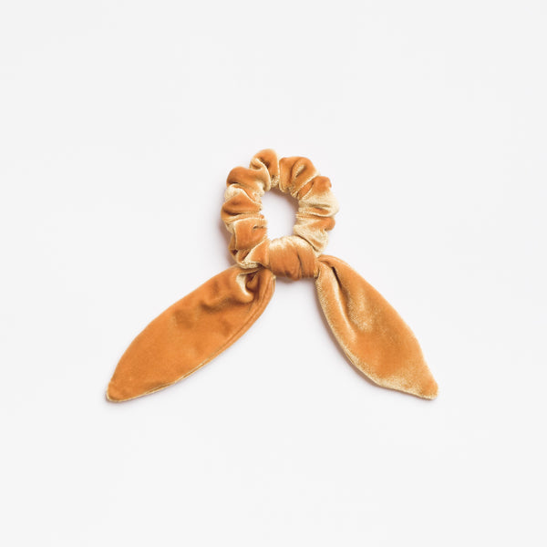 Harvest Moon Velvet Scrunchie Tie