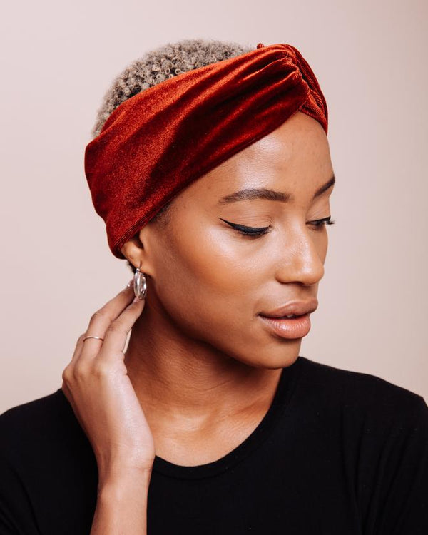 Brick House Velvet Turban