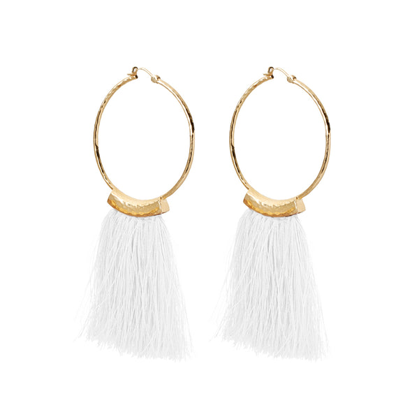 Lucia Hoops White