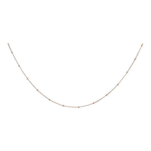 Rose Satellite Layering Chain - 16""