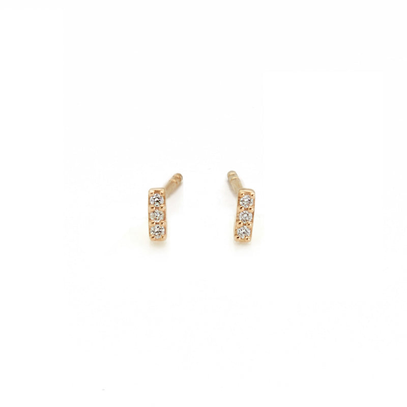 Diamond Bar Earrings (3)