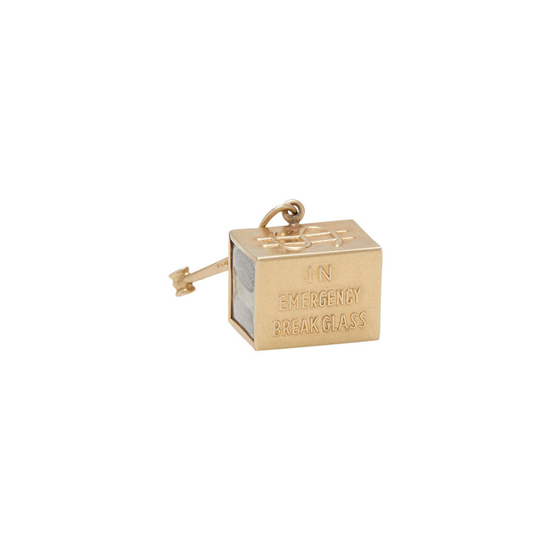 14 karat vintage mad money charm