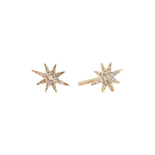 14 karat and diamond starlite studs