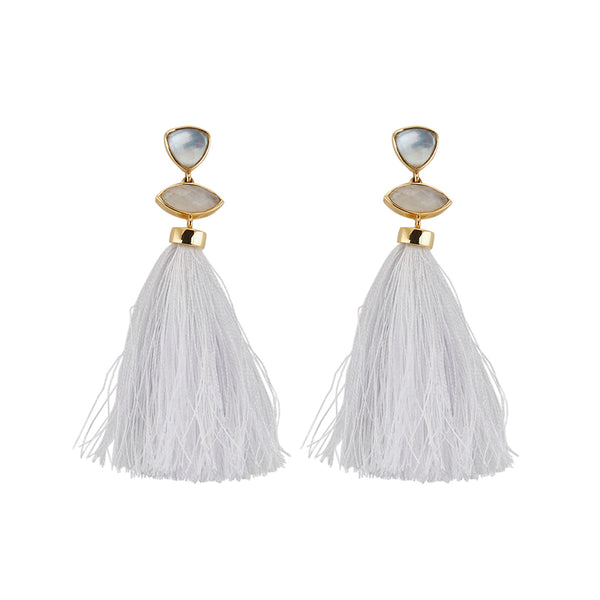Mar Tassels White