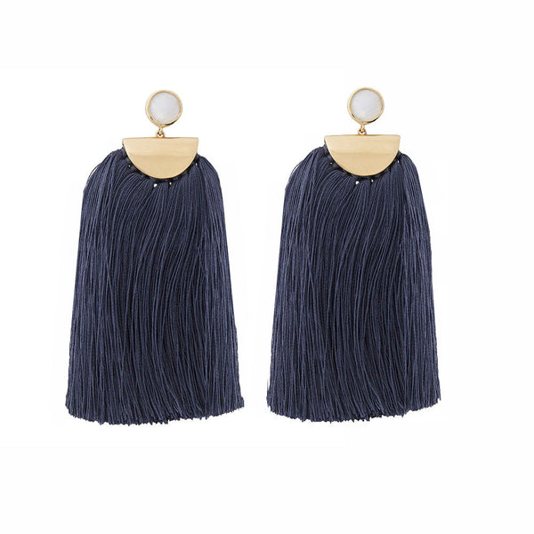 Avery Tassel Navy