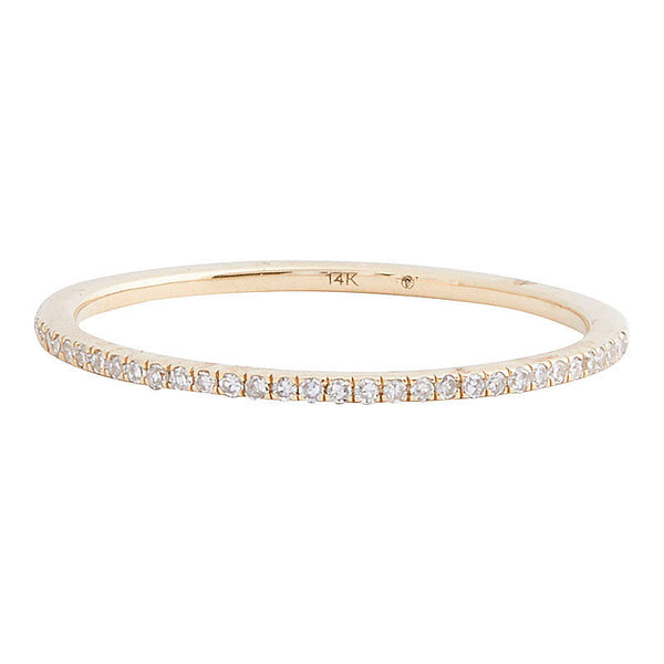 Diamond Eternity Band (Yellow Gold)