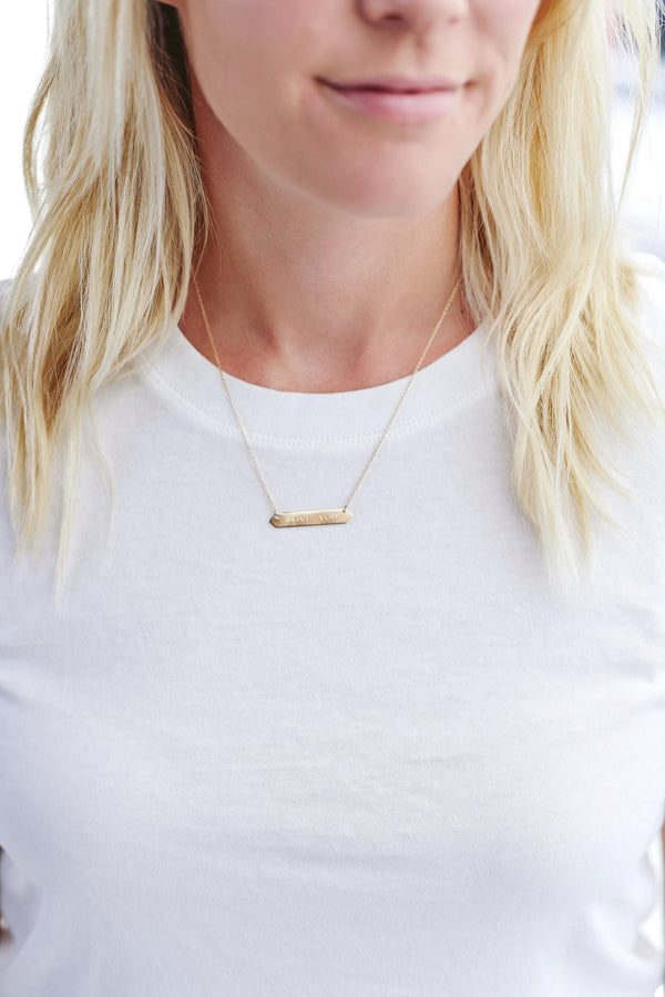 Geometric Bar Necklace