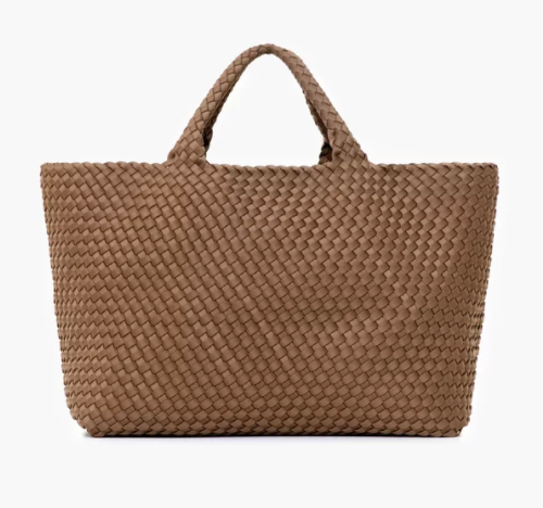 St Barth's Medium Tote Mink