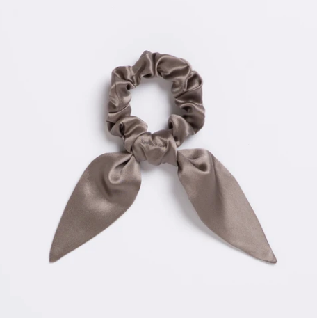 High Roller Silk Scrunchie Tie
