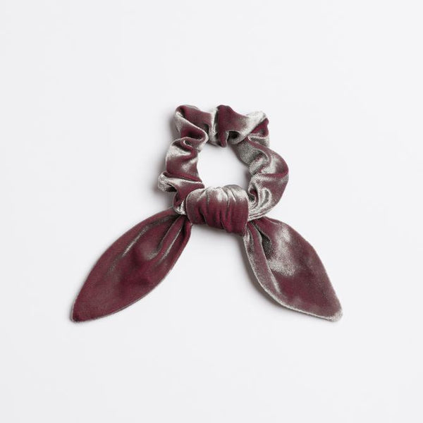 Thunder Road Velvet Scrunchie Tie