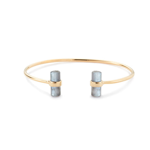 Dillon Bangle Labradorite
