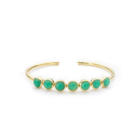 Rimini Bangle Chrysoprase