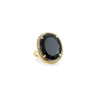 Ophelia Cocktail Ring Black Onyx