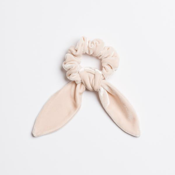 Moonstone Velvet Scrunchie Tie