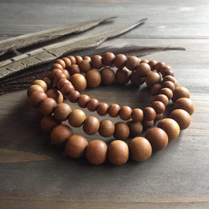 simple sandalwood stack