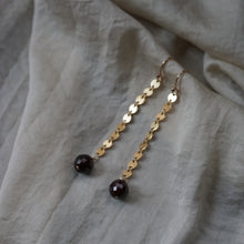 Load image into Gallery viewer, garnet ear adornments