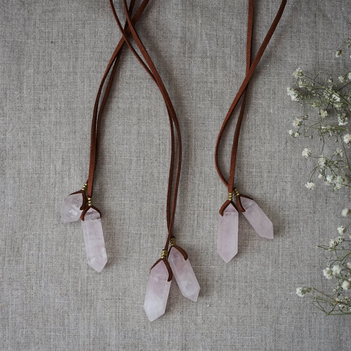 love lariats (terracotta/brass)