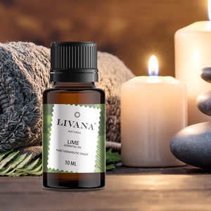 Lime Essential Oil (10ml) - Livananatural