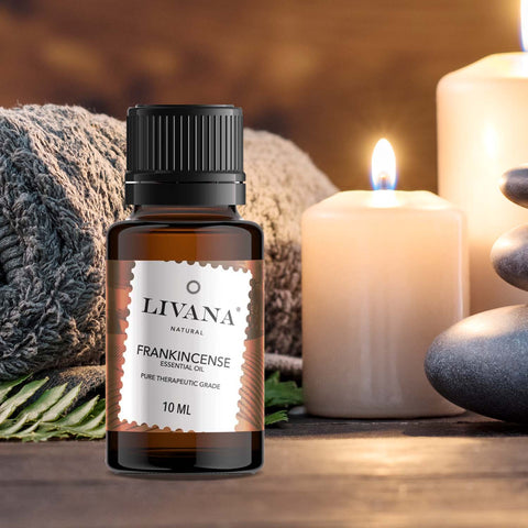 Image of Frankincense Essential Oil (10ml) - Livananatural