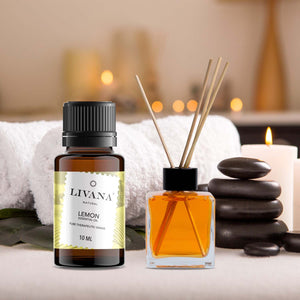 Lemon Essential Oil (10ml) - Livananatural