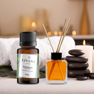 Rosemary Essential Oil (10ml) - Livananatural
