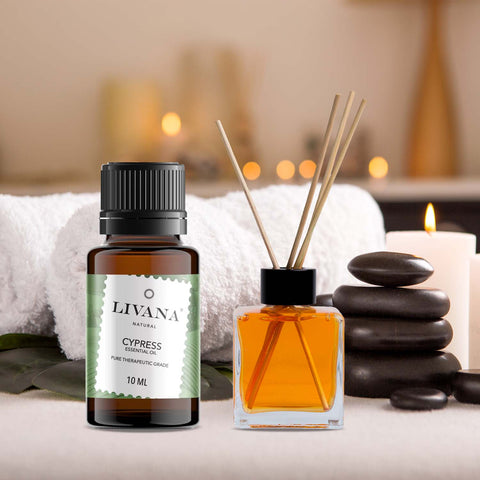 Image of Cypress Essential Oil (10ml) - Livananatural