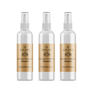 Anusara Yoga Mat Spray 3 Pack - Livananatural