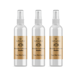 Hatha Yoga Mat Spray 3 Pack - Livananatural