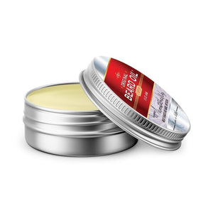 Voyager Moustache Wax (2 oz) 100% Natural, Rum and Spice, OU Kosher Certified, for Superior Shaping and Control - Livananatural