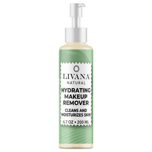 Makeup Hydrating Deep Cleansing Oil - FACIAL CLEANSING OIL AND MAKEUP REMOVER FOR ALL SKIN TYPES 6.7 FL OZ - Livananatural