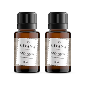 Black Pepper Essential Oil (10ml) 2 pack - Livananatural