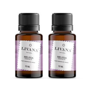 Melissa Essential Oil (10ml) 2 pack - Livananatural