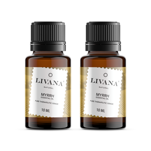 Myrrh Essential Oil (10ml) 2 pack - Livananatural
