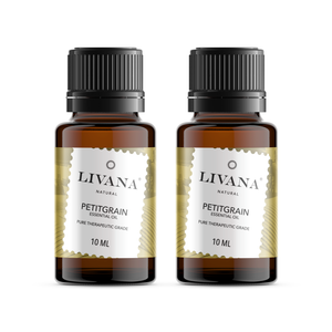 Petitgrain Essential Oil (10ml) 2 pack - Livananatural