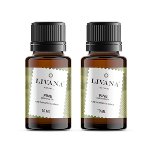 Pine Essential Oil (10ml) 2 pack - Livananatural