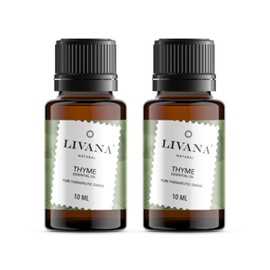 Thyme Essential Oil (10ml) 2 pack - Livananatural