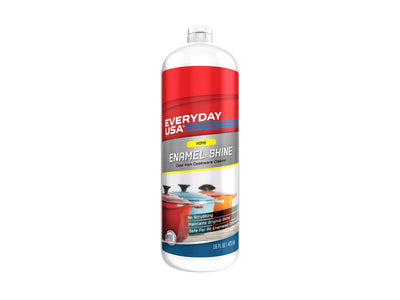 Everyday USA Enamel Cleaner for Cast Iron Cookware - Livananatural