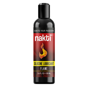 Flame Silicone-based Personal Lubricant 3.4 fl oz - Livananatural