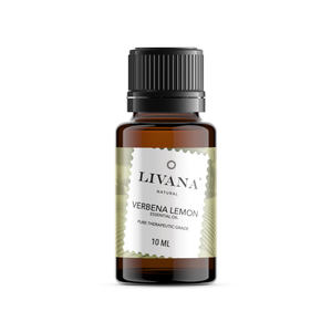 Verbena Lemon Essential Oil (10ml) - Livananatural